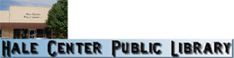 Hale Center Public Library Inc Logo